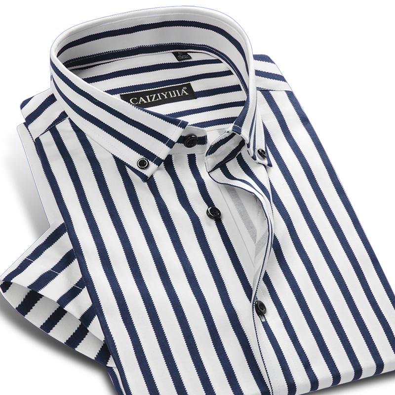 Brand New Clic Striped Shirt Men